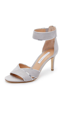 Diane Von Furstenberg Ragusa Sandals - Light Taupe
