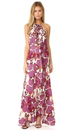 Diane Von Furstenberg Veronnica Dress - Impromptu Amethyst