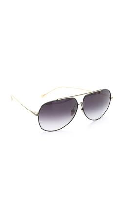 Dita Condor Aviator Sunglasses - Black