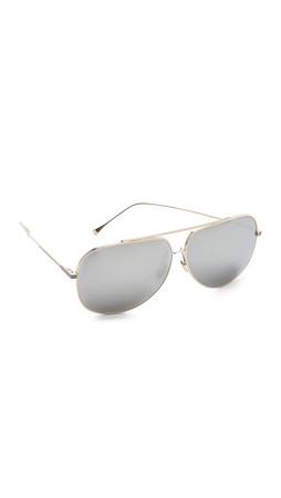 Dita Condor Sunglasses - Gold/Silver Mirror