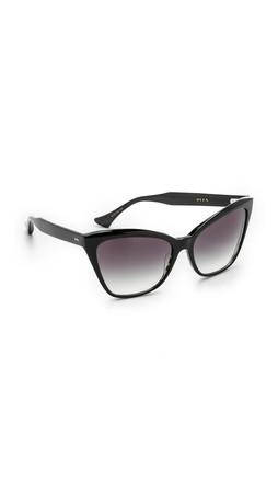 Dita Superstition Sunglasses - Black/Grey
