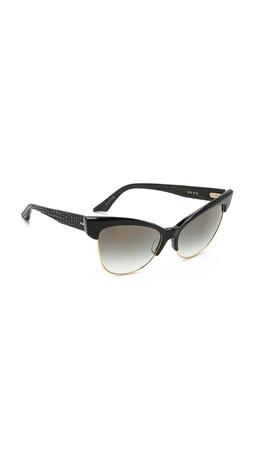 Dita Tempation Sunglasses - Black/Gold Flash