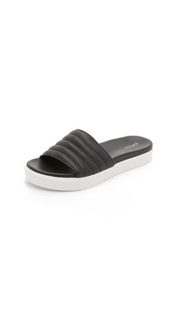 Dkny Brooke Slides - Black