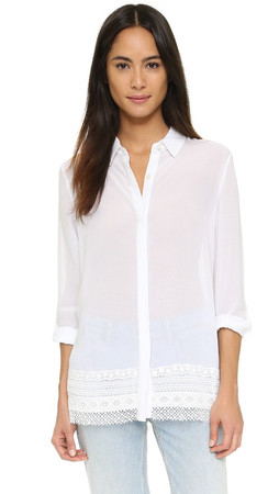 Dkny Button Shirt - White