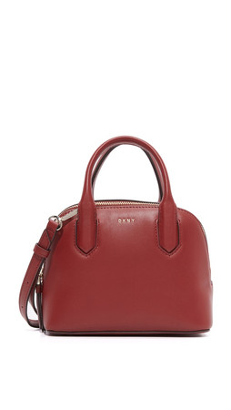 Dkny Greenwich Mini Satchel - Scarlet