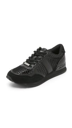 Dkny Jamie Jogger Sneakers - Black