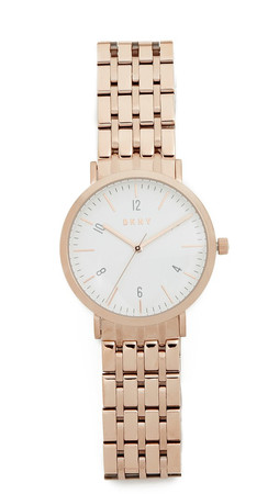 Dkny Minetta Watch - Rose Gold