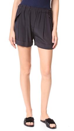 Dkny Pure Dkny Pull On Shorts - Black