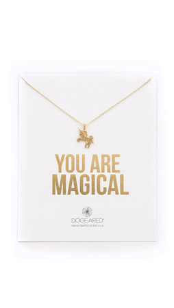 Dogeared You Are Magical Necklace - Gold
