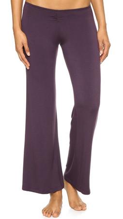 Eberjey Sadie Cinched Pants - Prune