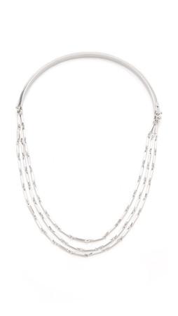 Eddie Borgo Peaked Chain Necklace - Silver