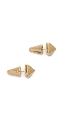 Eddie Borgo Stud Earrings - Gold