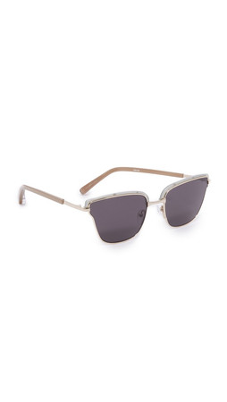 Elizabeth And James Empire Sunglasses - Teal Silver/Smoke