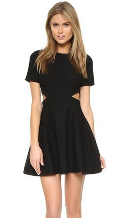 Elizabeth And James Leonie Dress - Black