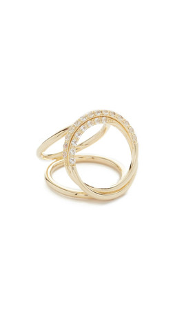 Elizabeth And James Lissie Ring - Gold