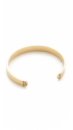 Elizabeth And James Pearce Cuff Bracelet - Gold/Clear