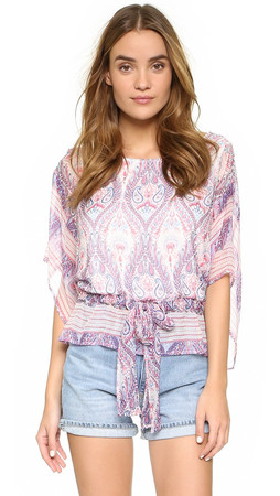 Ella Moss Lorelei Blouse - Natural