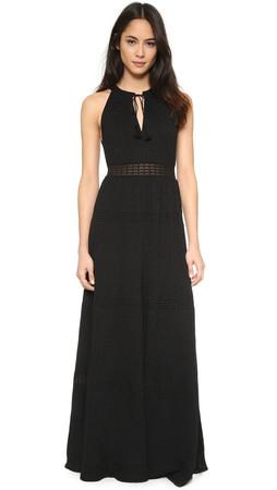 Ella Moss The Sweater Dress - Black