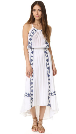 Ella Moss Usiku Maxi Dress - White