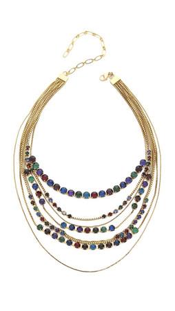 Erickson Beamon Hyperdrive Layered Necklace - Jewel Multi