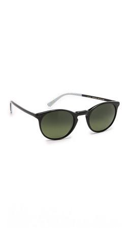 Etnia Barcelona X-Berg Sunglasses - Black/Green
