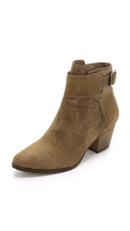 Free People Belleville Ankle Boots - Khaki