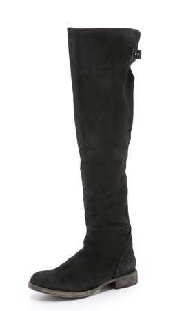 Free People Carlisle Tall Boots - Black
