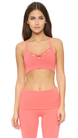 Free People Movement Moonshadow Bra - Pink