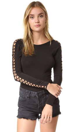 Free People Movement Rama Layering Top - Black