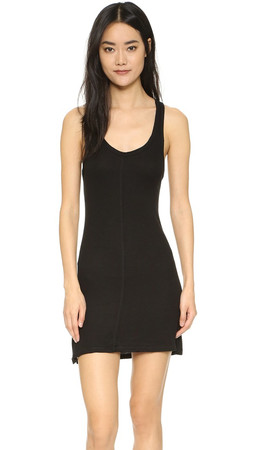 Free People Slinky Tank Slip - Black