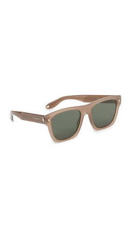 Givenchy Flat Top Sunglasses - Opal Mud/Grey Green