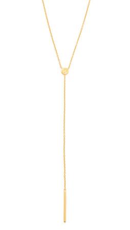 Gorjana Alphabet Lariat Necklace - H