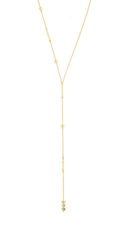 Gorjana Arden Asymmetrical Lariat Necklace - Gold