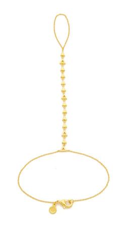 Gorjana Arden Hand Chain - Gold