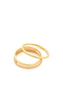 Gorjana Cameron Midi Ring Set - Gold