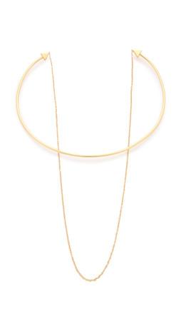 Gorjana Irene Chain Collar Necklace - Gold