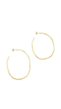 Gorjana Laurel Large Hoop Earrings - Gold