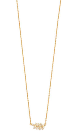 Gorjana Olympia Shimmer Necklace - Gold/Clear