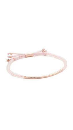 Gorjana Power Gemstone Bracelet For Love - Rose Gold/Rose Quartz