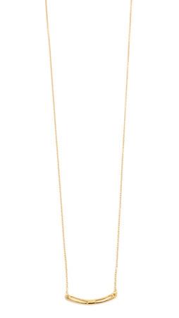Gorjana Taner Split Necklace - Gold