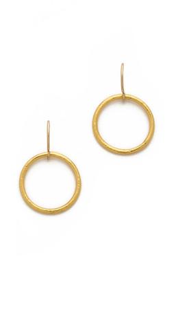 Gorjana Viceroy Earrings - Gold