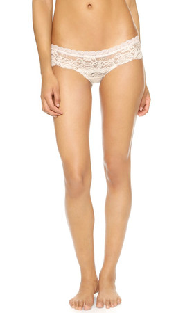 Hanky Panky Dutchess Hipster Briefs - Marshmallow