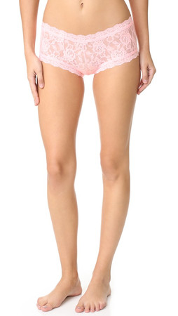 Hanky Panky Signature Lace Boyshort - First Blush