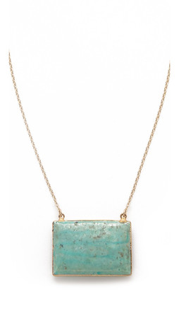 Heather Hawkins Reunion Necklace - Turquoise