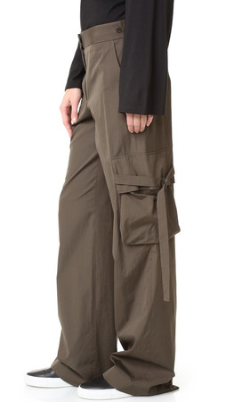 Helmut Lang Cargo Pocket Pants - Mortar