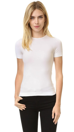 Helmut Lang Short Sleeve T Shirt - Optic White