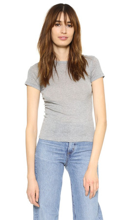 Helmut Lang Shrunken T-Shirt - Medium Heather