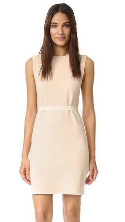 Helmut Lang Sleeveless Scuba Dress - Shell