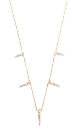 Jacquie Aiche Icepick Necklace - Gold