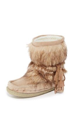 Joie Alabama Eskimo Booties - Gesso/Multi